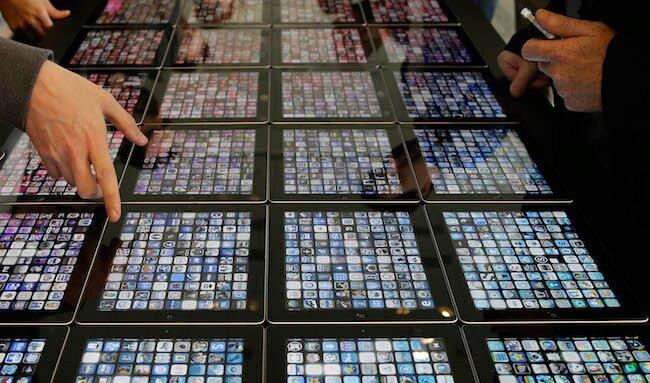 Какими приложениями пользуются сотрудники Apple?