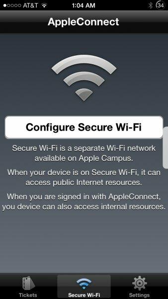 Приложение AppleConnect