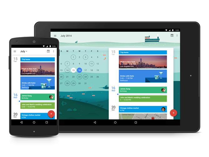 Google Apps: до и после Material Design