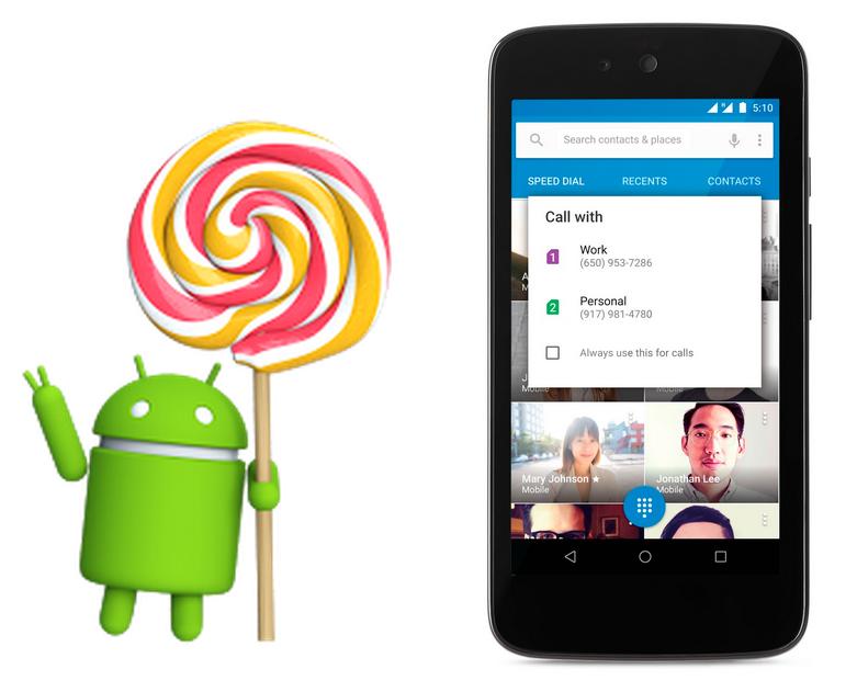 Вышли Android 5.1 и iOS 8.2