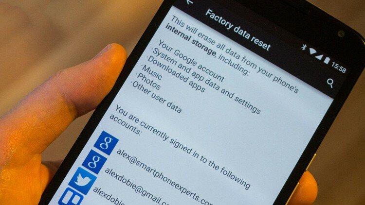 Как сделать сброс настроек в Android Lollipop